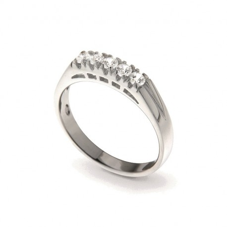 Ring in Silver 925 and Cubic Zirconia